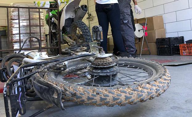 """האופניים של סעדון ז""""ל (צילום: חדשות)"""