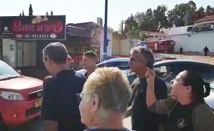 """הח""""כים הגיעו לביקור בעיר ונקלעו לוויכוח. צפו (צילום: קובי ריכטר/TPS, חדשות)"""