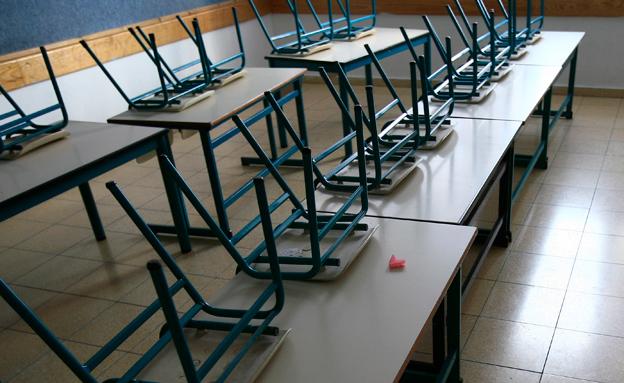 בעקבות ההסלמה: התלמידים ישארו בבית (צילום: נתי שוחט / פלאש 90, חדשות)