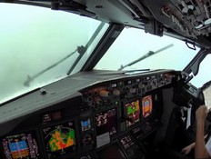 מטריד: זה מה שהטייסים ראו רגע לפני הנחיתה
