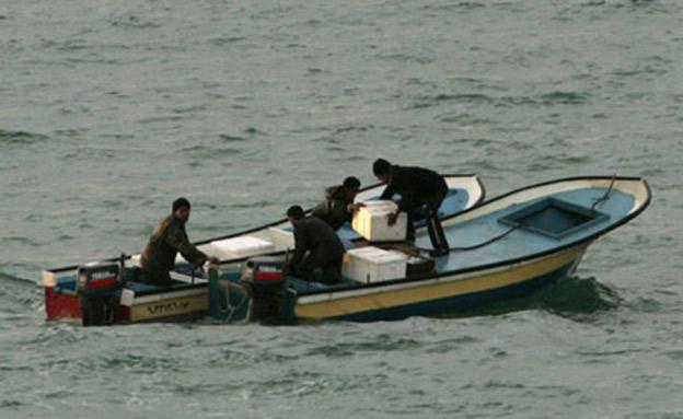 ספינת דייגים עזתים, ארכיון (צילום: AP, חדשות)