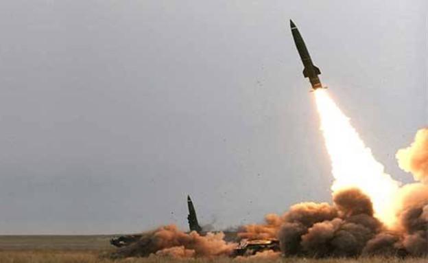 שיגור טילי זלאל על סעודיה (צילום: הכוחות החותים)