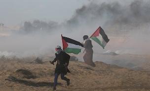 מהומות בגבול. ארכיון (צילום: רויטרס, חדשות)