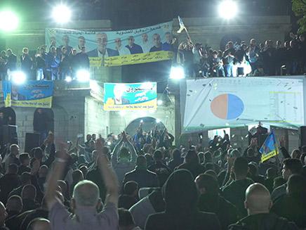 חגיגות הניצחון בקלנסווה (צילום: החדשות)