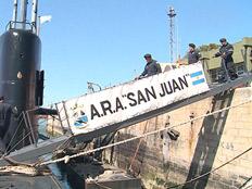 הצוללת הארגנטינית לפני שאבדה בים (צילום: החדשות)