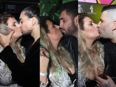 שלוש נשיקות באירוע אחד: לירז אסייג לא עוצרת