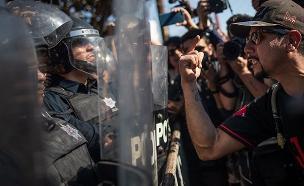 """משבר המהגרים בגבול ארה""""ב (צילום: רויטרס, חדשות)"""