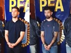 מעצר החשודים (צילום: החדשות)