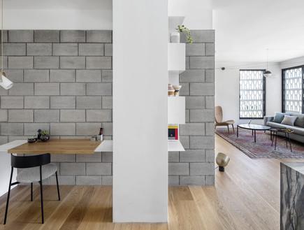 דירה בתל אביב, עיצוב בריק קווה אדריכלים, צילום איתי בנית (11) (צילום: איתי בנית)