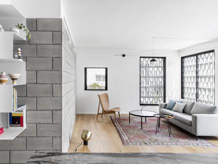 דירה בתל אביב, עיצוב בריק קווה אדריכלים, צילום איתי בנית (9) (צילום: איתי בנית)