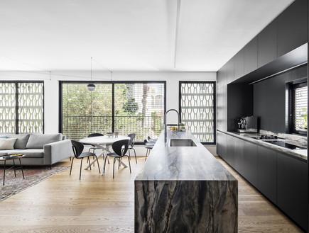 דירה בתל אביב, עיצוב בריק קווה אדריכלים, צילום איתי בנית (10) (צילום: איתי בנית)