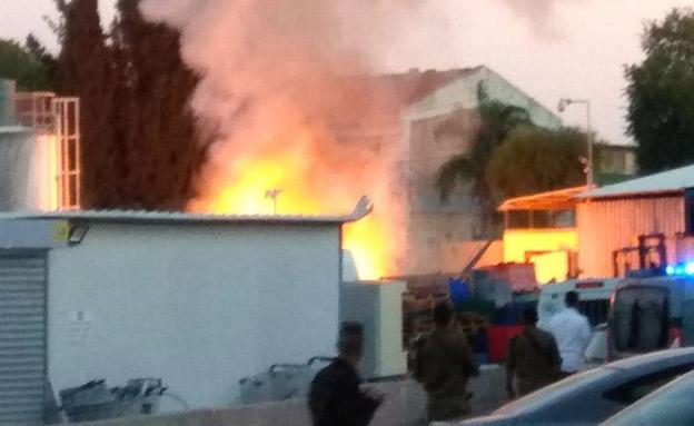 בית שנפגע השבוע בשדרות (צילום: עד ראייה, חדשות)