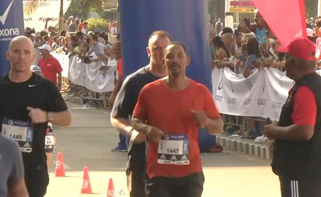 וויל סמית משתתף במרתון בקובה (צילום: רויטרס, חדשות)