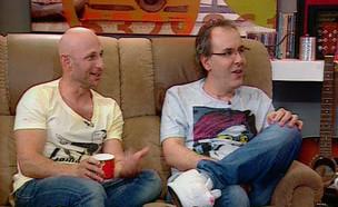 שי ודרור בשבת צחוק (צילום: קשת 12)