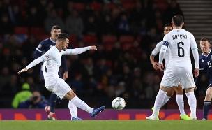 ישראל נגד סקוטלנד בכדורגל (צילום: רויטרס, חדשות)