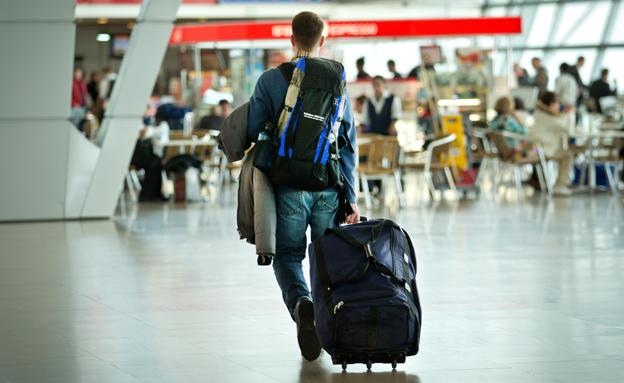 אלפי נוסעים בנתב