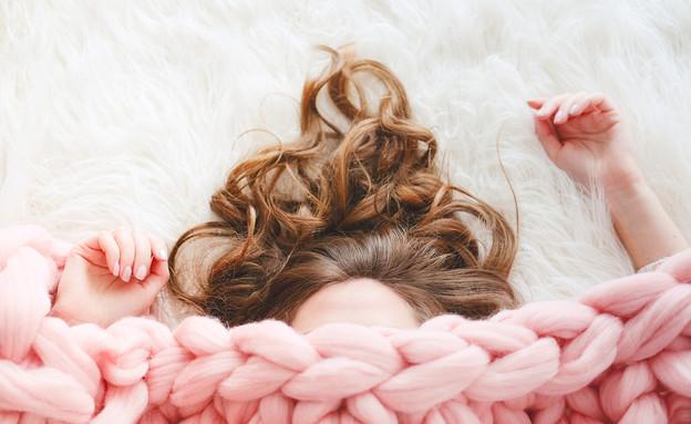 שיער בחורף (צילום: nata_nytiaga)