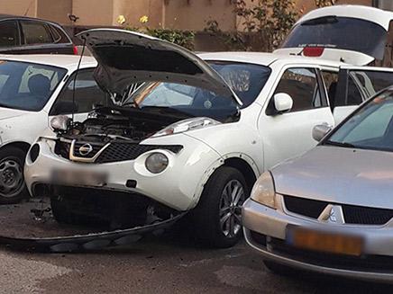 פיצוץ רכב קצינת שב