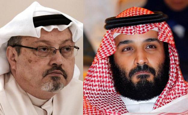 חשוקג'י ובן סלמאן (צילום: CNN, רויטרס, חדשות)