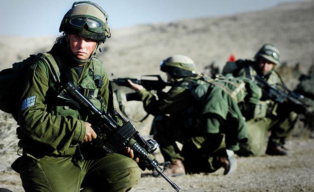 המתגייסים החדשים של נובמבר. ארכיון (צילום: דובר צה
