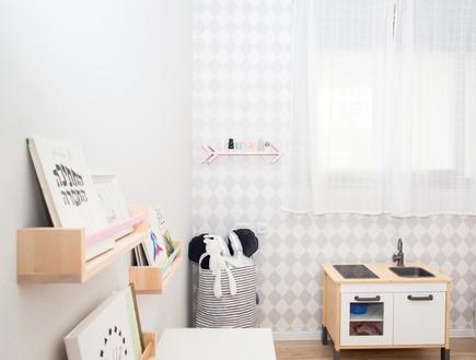 דירה ברמת השרון, עיצוב מיכל וולפסון, חדר ילדים, אורי (צילום: דנה סטמפלר עשהאל)
