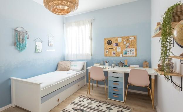 דירה ברמת השרון, עיצוב מיכל וולפסון, חדר ילדים, גיא (צילום: דנה סטמפלר עשהאל)