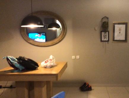 דירה ברמת השרון, עיצוב מיכל וולפסון, לפני שיפוץ, פינת אוכל (צילום: מיכל וולפסון)