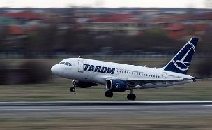 חשש לחצבת בטיסת Tarom (אילוסטרציה) (צילום: רויטרס, חדשות)
