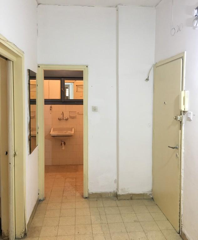 דירה בתל אביב, ג, עיצוב דנה ברוזה, לפני שיפוץ - 23