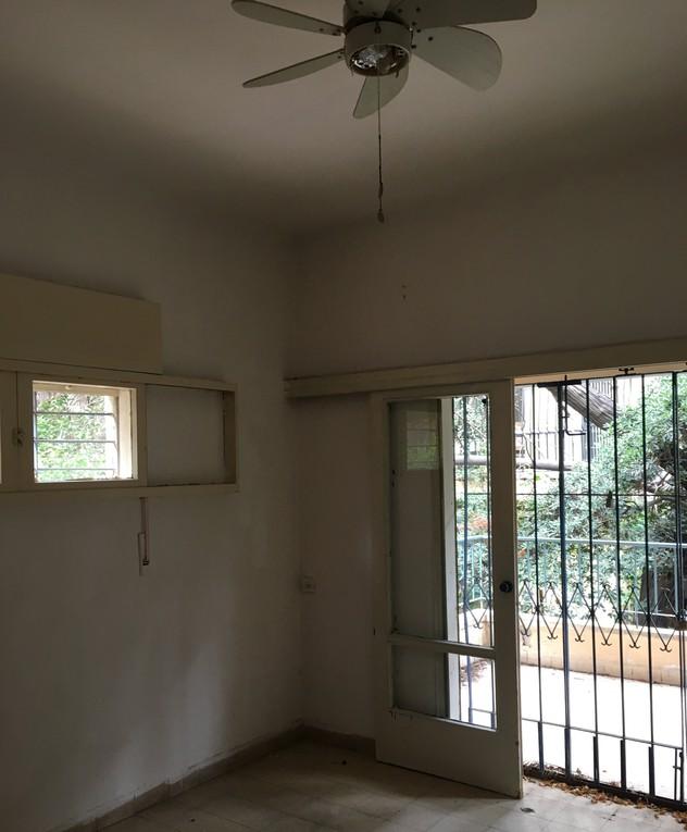 דירה בתל אביב, ג, עיצוב דנה ברוזה, לפני שיפוץ - 26