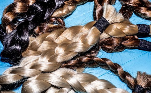 תרומת שיער (צילום: By Natalia Rezanova, shutterstock)