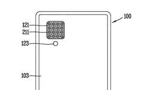פטנט LG - סמארטפון ולו 16 מצלמות (צילום: מתוך בקשת הפטנט)