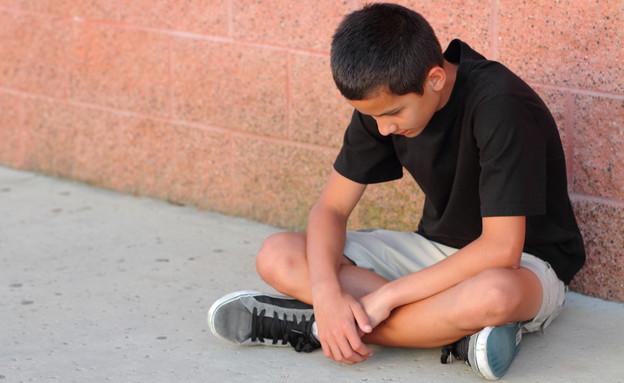 נער שעבר התעללות (צילום: אימג'בנק / Thinkstock)