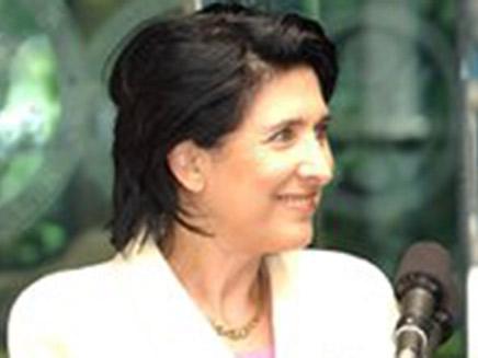סלומה זורבהשווילי, נשיאת גאורגיה הראשונה