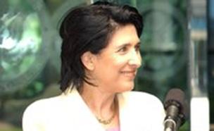 סלומה זורבהשווילי, נשיאת גאורגיה הראשונה (צילום: חדשות)