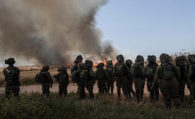 האלימות משתוללת בגבול כבר יותר מחצי שנה (צילום: רויטרס, חדשות)