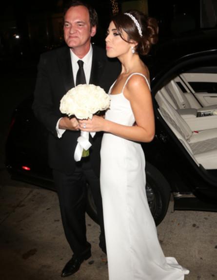 החתונה של דניאלה פיק וקוונטין טרנטינו (צילום: splashnews)