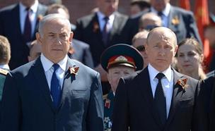 """רה""""מ בנימין נתניהו עם נשיא רוסיה ולדימיר פוטין (צילום: עמוס בן גרשום, לע""""מ, חדשות)"""