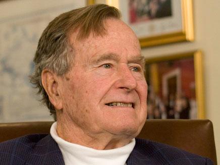 ג'ורג' הרברט בוש ב-2012 (צילום: רויטרס, חדשות)