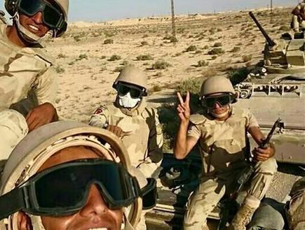 חיילים מצרים בצפון סיני