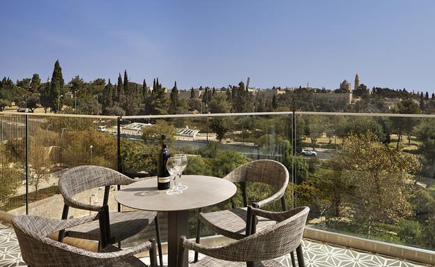 נוף ירושלמי (צילום: אסף פינצ'וק)