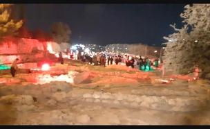 חניכת אתר תל חברון (צילום: אתר רשות הטבע והגנים, חדשות)