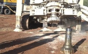 """העבודות לנטרול המנהרות (צילום: דובר צה""""ל, חדשות)"""