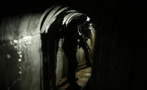 מנהרה בעזה (צילום: רויטרס, חדשות)