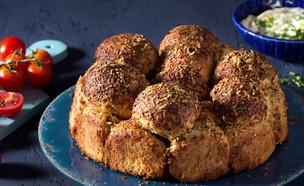 לחם קופים עם גבינה (צילום: בבושקה הפקות, מחלבות גד)