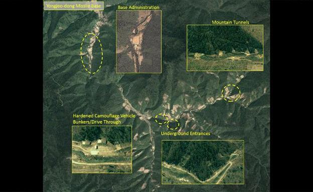 """""""התמונות מראות שהבסיס ממשיך להיות פעיל"""" (צילום: חדשות)"""