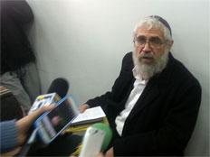 הרב מוטי אלון (צילום: יוסי זילברמן, חדשות 2)