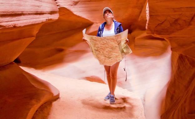 מפה במדבר (צילום: shutterstock_By ESB Basic)