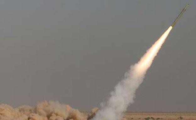 שיגור טיל אירני (ארכיון) (צילום: AP, חדשות)