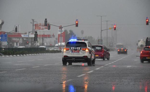 המשטרה נערכת בכוחות מתוגברים (ארכיון) (צילום: דוברות המשטרה, חדשות)